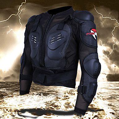 pró-motociclista+motocicleta+armadura+de+proteção+aprimorada+espessamento+–+BRL+R$+110,45