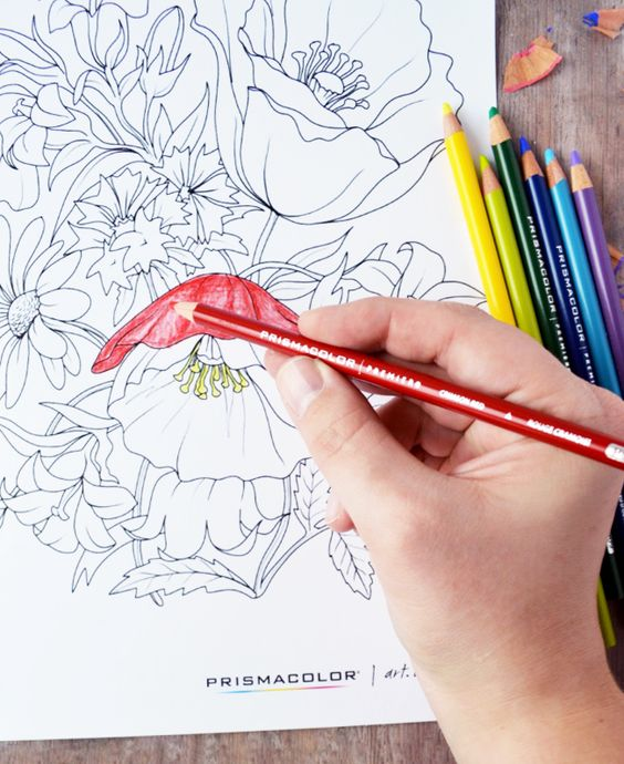 Adult coloring pages are a great way to relax! Find @pinprismacolor pencils and markers at @michaelsstores - be sure to check out @michaelsstores coupons for additional savings, in newspapers and online! #relaxandcolor #ColoringwithMichaels #PMedia #ad