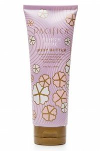 Pacifica Body Butter tube French Lilac • large 8 oz.  100% vegan cream.  great ingredients