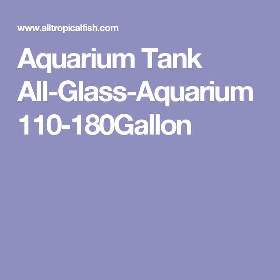 Aquarium Tank All-Glass-Aquarium 110-180Gallon