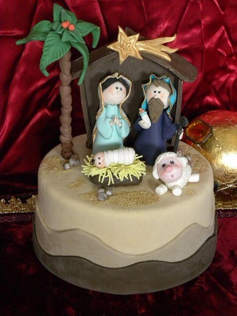 Nativity Christmas Cake Design : Come realizzare personaggi del presepe in pasta di ...