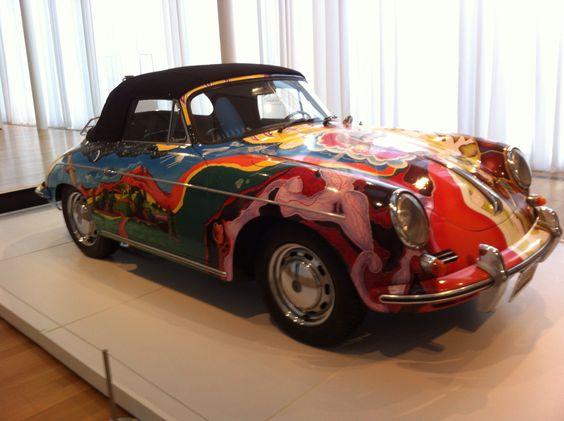 Janet Jocelyn's Porsche.