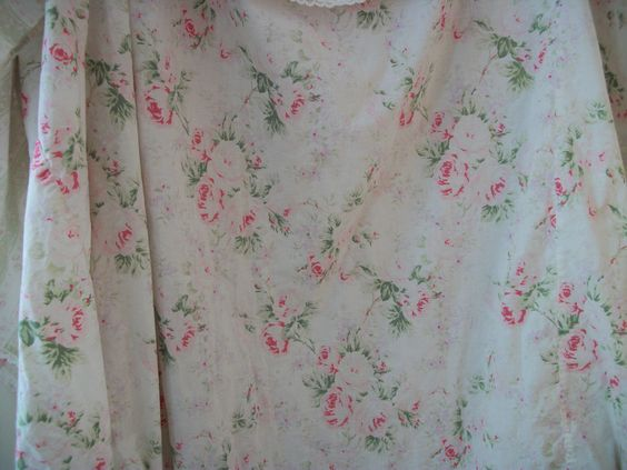 Rachel Ashwell Shabby Chic Treasures Pale Pink Roses Curtain Panel Or Shower Curtain All Cotton Coor Rose Curtains Pale Pink Roses Rachel Ashwell Shabby Chic