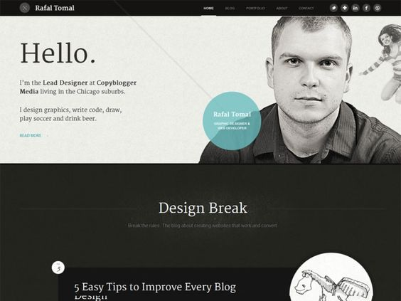 Personal Home Page Designs - Home Design And Style