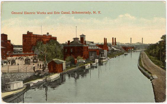 La construcción del Canal de Erie - Albany Instituto de Historia y Arte