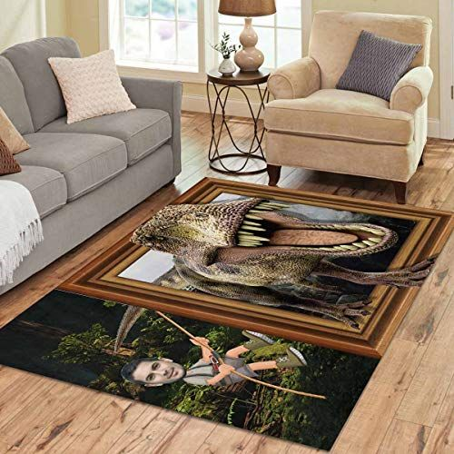 Custom Design Your Own Floor Mat Home Decor Personalized Photo Face On Area Rug Happy More In 2020 Area Rugs Rugs Home Decor