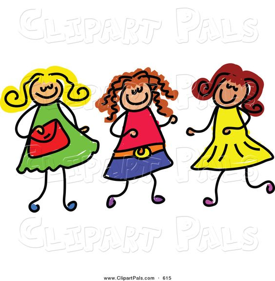 Together Forever Friends Clipart - Clipart Kid