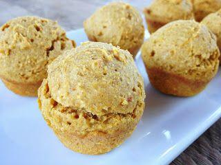 Pumpkin Cornbread Mini Muffins (gluten free)