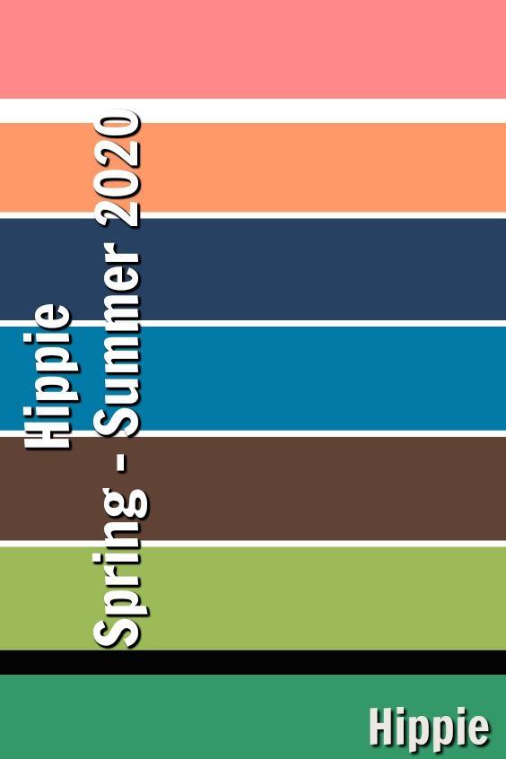 Summer Color Palette 2020.Hippie Spring Summer 2020 In 2019 Spring Summer Trends
