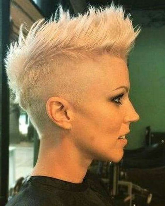Fierce faux hawk