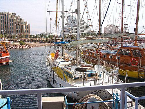 Eilat, Israel - Public Spaces, harbor (אילת)