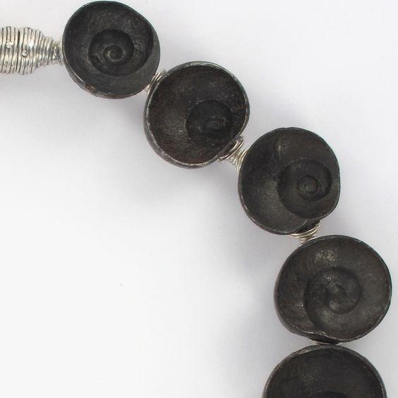 Empreinte : collier pièce unique par Marianne Anselin: