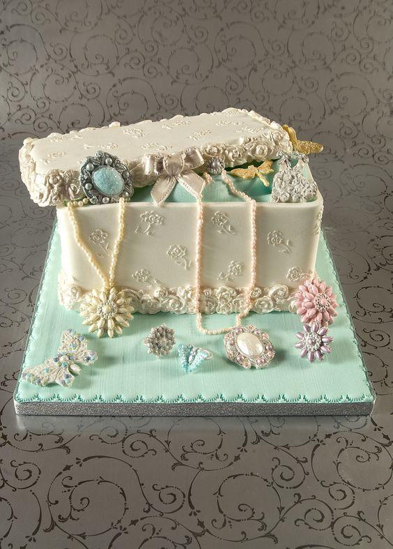 Cake Craft Box Cake And Jewelry Box On Pinterest