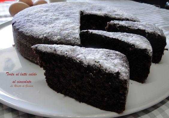 torta al latte caldo cioccolato bimby
