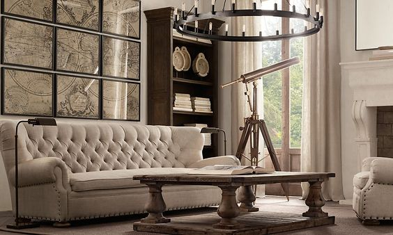 Pinterest the world s catalog of ideas - Restoration hardware entry table ...