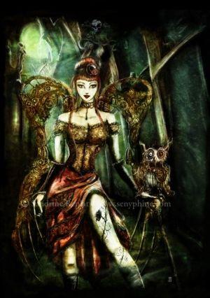 Steam punk fairy. by meanbarbarajean