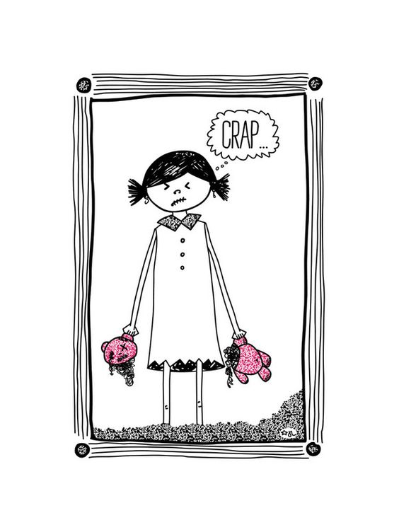 Cheer Up! by blackwhite press for Minted