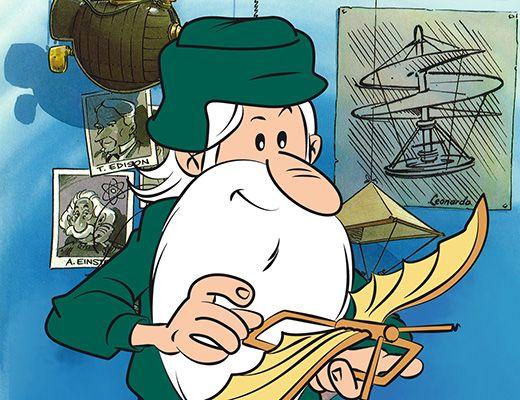 Voici la passionnante histoire des grandes découvertes et de ceux qui les ont faites, façonnant ainsi le monde pour en faire ce qu'il est aujourd'hui. Maestro nous guide à travers les siècles à la rencontre des plus grands savants: Newton, Galilée, Gutenberg, Léonard de Vinci, Lavoisier...