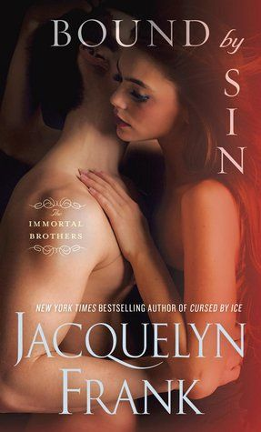 BOUND BY SIN (Immortal Brothers 3) by Jacquelyn Frank   BOUND BY SIN is the third installment in Jacquelyn Frank's adult, IMMORTAL BROTHERS mythological romance, paranormal fantasy series focusing on four brothers cursed, by the gods and goddesses, in their search for immortality. This is Jaykun and Jileana's storyline.   http://www.thereadingcafe.com/bound-by-sin-the-immortal-brothers-3-by-jacquelyn-frank-a-review/