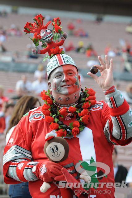 """Jon """"Big Nut"""" Peters - Now this is an OSU Buckeys fan!"""