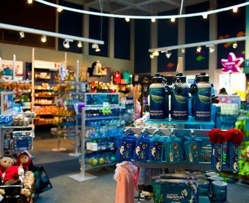 Vancouver aquarium gift shop aquarium gift shops for Craft store norwalk ct