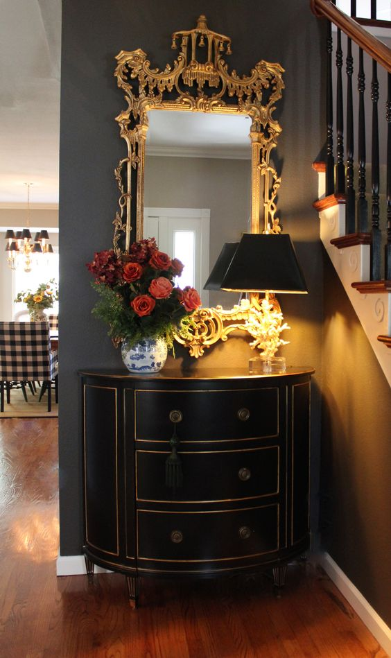 Ethan Allen Coral lamp