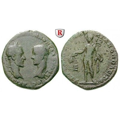 Römische Provinzialprägungen, Thrakien-Donaugebiet, Markianopolis, Macrinus, 5 Assaria 218, f.ss: Thrakien-Donaugebiet,… #coins