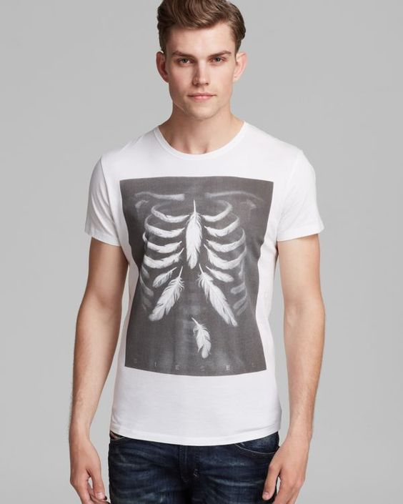 Diesel T-Rolt X-Ray Tee