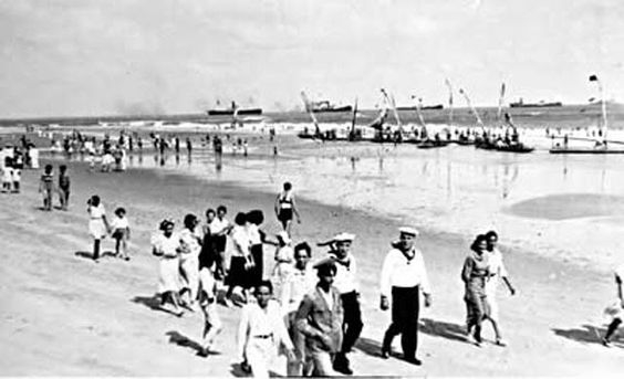 Iracema beach in Fortaleza, 1939