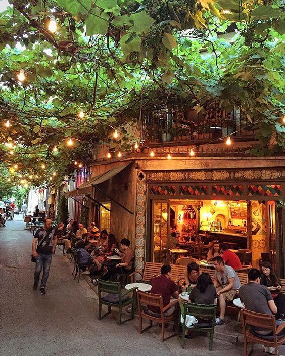 Barrio de Karaköy, Estambul, Turquía