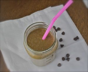 peanut butter cup (green) smoothie