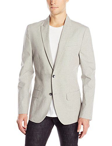Kenneth Cole Men's Two-Button Slim Nep