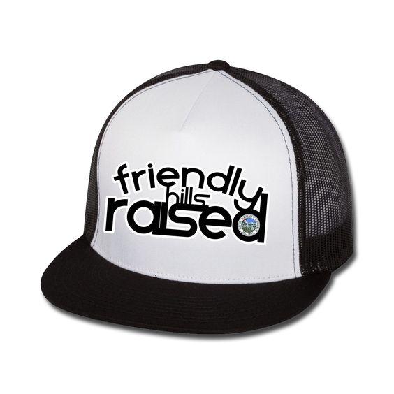Friendly Hills Raised Flat Bill Trucker Hat