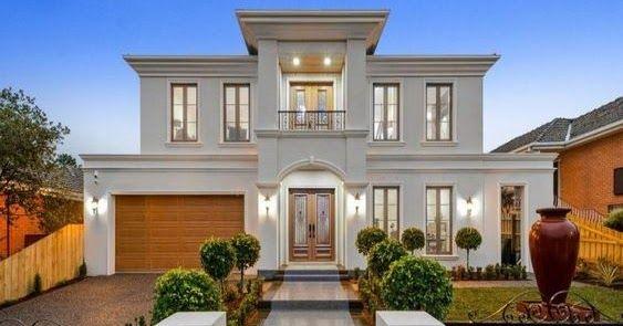 تصميم فلل مودرن من الخارج باقة مميزة من الديكورات الخارجية الخاصة بالفلل والقصور التي تضم العديد من الأفكار ا House Designs Exterior House Styles House Design