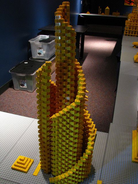 Lego tower.