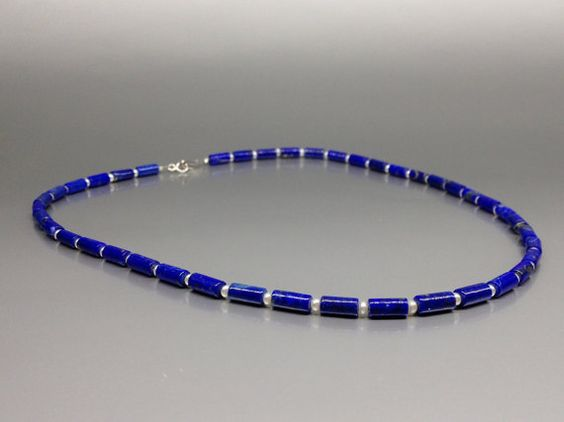 Hey, I found this really awesome Etsy listing at https://www.etsy.com/listing/235483258/necklace-lapis-lazuli-and-freshwater
