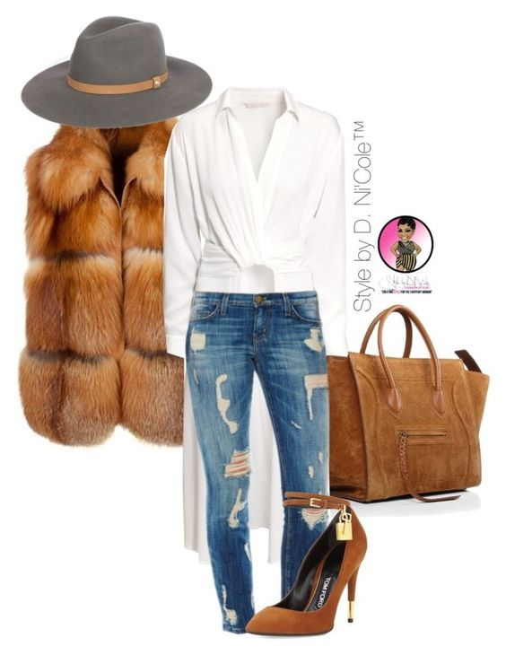 """Untitled #2872"" by stylebydnicole ❤ liked on Polyvore featuring H&M and Tom Ford:"