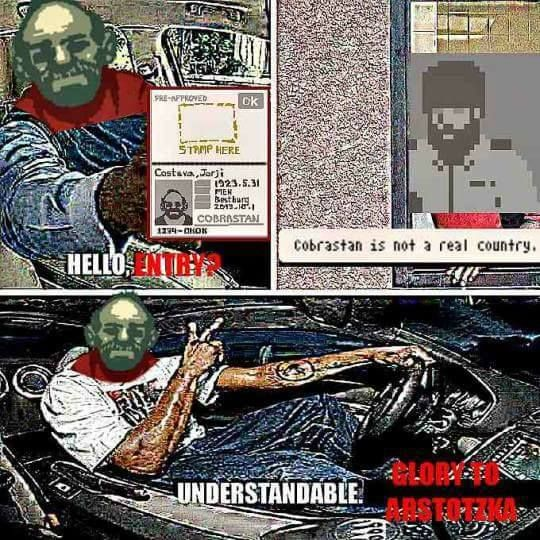 Papers Please Not Today Oldman Video Game Memes Games Gaming