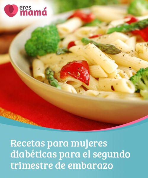 recetas de comidas para diabetes gestacional