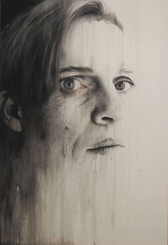 """Saatchi Art Artist Annemarie Busschers; , """"Self-Portrait"""" #art"""