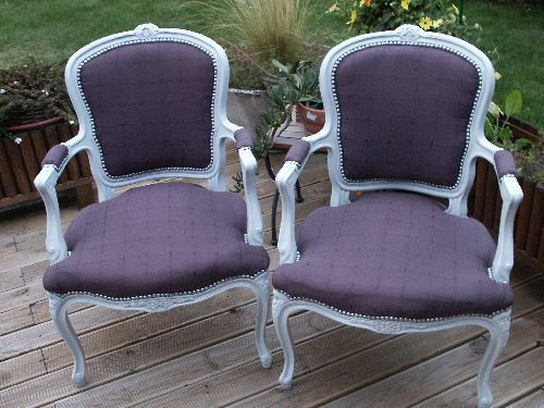 Photos on pinterest - Restauration fauteuil voltaire ...
