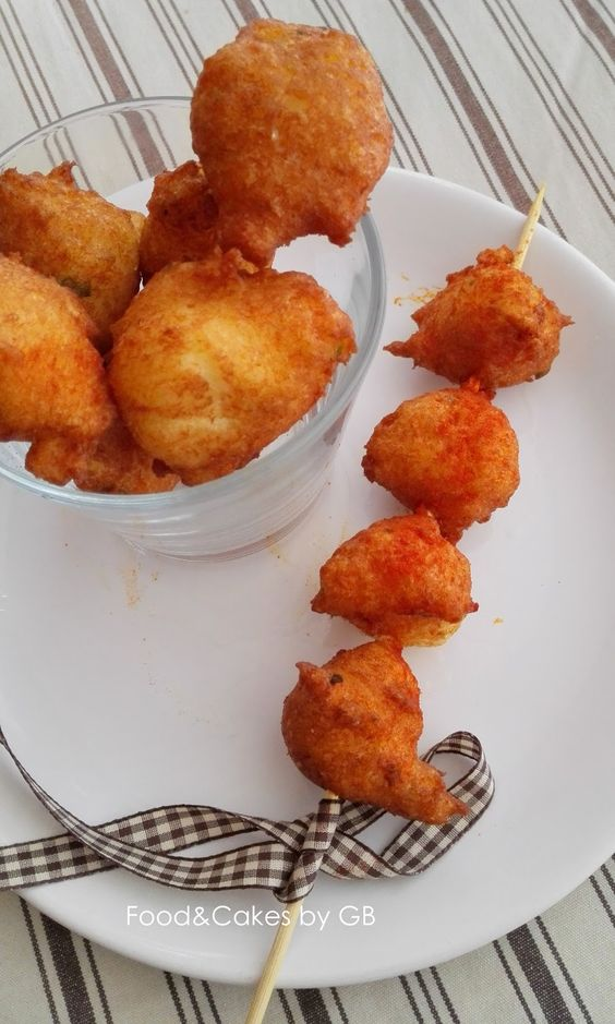 FOOD & CAKES: Buñuelos de bacalao - VIDEORECETA (Thermomix y tradicional)