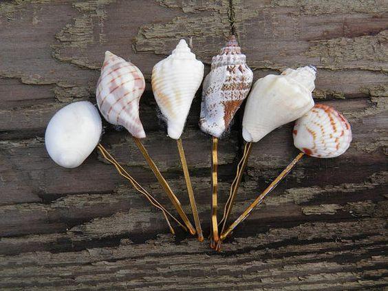 Mako Mermaids-inspired Shell Hair Pins: