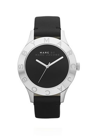 Marc Jacobs // Black Patent Blade 40MM