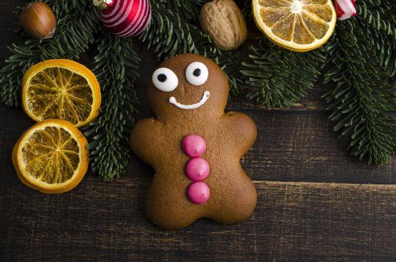 Ketogene Kekse und Low Carb Weihnachtsplätzchen - Low Carb Lebkuchen Männchen