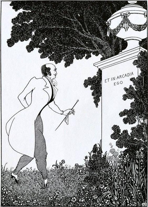 Рисунки Обри Бердслея