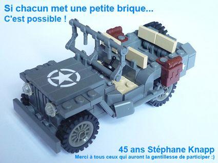 45 ans Stéphane Knapp LEGO