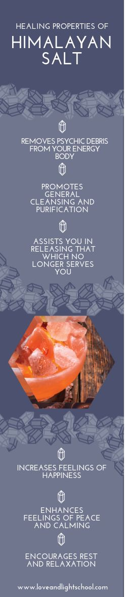 """A Crystal Message about the Healing Properties of Himalayan Salt: """"Release that which is not serving your physical body. Cleanse your energy field by removing energetic debris that is dulling your light."""" #himalayansaltlamp #detox #cleanse #healing #loveandlightschool #crystalblog #crystalmeanings #crystalhealing"""