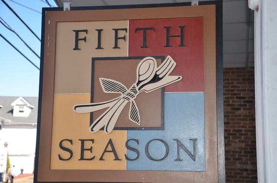 Lunch available from the fabulous  Fifth Season Restaurant Port Jefferson, NY