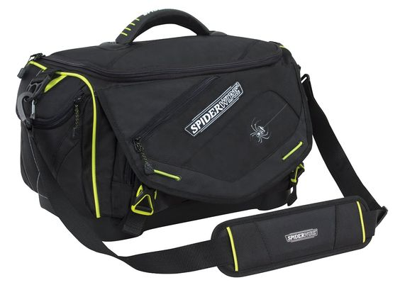 Spiderwire Wolf Tackle Bag, Black >>> Click on the image for additional details.